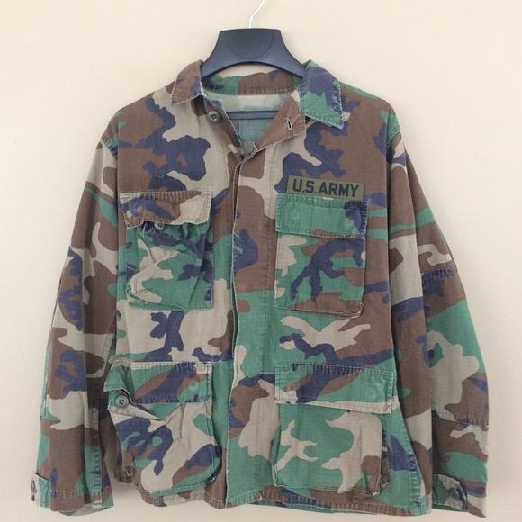 69715413692e0 US ARMY Woodland Camo BDU Small Short Marines. M_5a43c6018af1c5f9db091bbe